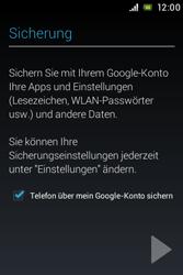 Sony Xperia E - Apps - Konto anlegen und einrichten - 15 / 17
