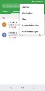 LG G6 - Android Oreo - Anrufe - Anrufe blockieren - Schritt 4