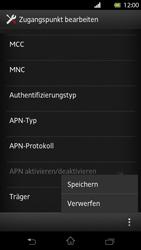 Sony Xperia T - Internet und Datenroaming - Manuelle Konfiguration - Schritt 15