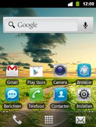 Alcatel OT-903 - Internet - Uitzetten - Stap 1