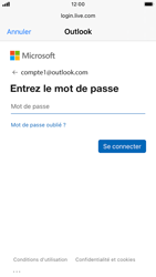 Apple iPhone 6s - iOS 14 - E-mail - 032c. Email wizard - Outlook - Étape 7