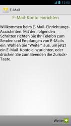 Alcatel One Touch Idol - E-Mail - Manuelle Konfiguration - Schritt 5