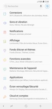 Samsung Galaxy S8 Plus - Android Oreo - Internet et roaming de données - Comment vérifier que la connexion des données est activée - Étape 4