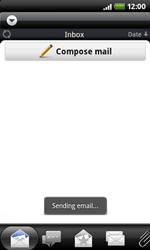 HTC A7272 Desire Z - E-mail - Sending emails - Step 11