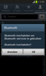 Samsung S7390 Galaxy Trend Lite - Contactgegevens overzetten - delen via Bluetooth - Stap 10