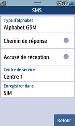 Samsung S5250 Wave 525 - SMS - Configuration manuelle - Étape 6