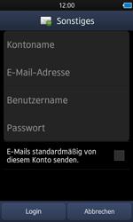 Samsung S8600 Wave 3 - E-Mail - Konto einrichten - Schritt 6
