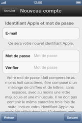 Apple iPhone 4S - Applications - Configuration de votre store d
