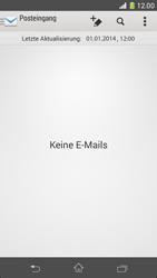 Sony Xperia Z1 Compact - E-Mail - Manuelle Konfiguration - Schritt 19