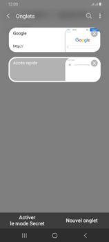 Samsung Galaxy A42 5G - Internet et connexion - Naviguer sur internet - Étape 18