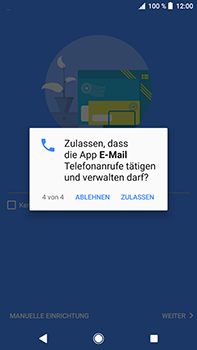Sony Xperia XZ2 Premium - E-Mail - Konto einrichten (outlook) - Schritt 13