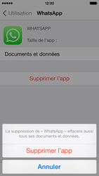 Apple iPhone 5c - Applications - Comment désinstaller une application - Étape 7