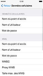 Apple iPhone 5 iOS 7 - Internet et roaming de données - Configuration manuelle - Étape 8