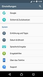 Sony F8131 Xperia X Performance - Fehlerbehebung - Handy zurücksetzen - Schritt 6