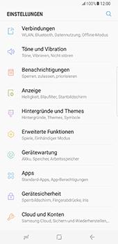 Samsung Galaxy S8 Plus - Internet und Datenroaming - Prüfen, ob Datenkonnektivität aktiviert ist - Schritt 4