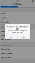 Apple iPhone 6 - E-mail - Configuration manuelle - Étape 15