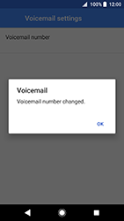 Sony Xperia XA2 - Voicemail - Manual configuration - Step 11