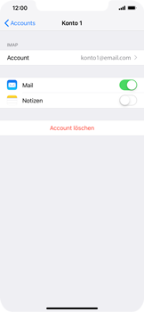 Apple iPhone XR - E-Mail - Konto einrichten - 17 / 30