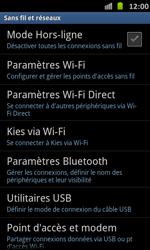 Samsung Galaxy S Advance - WiFi - Configuration du WiFi - Étape 5