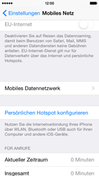 Apple iPhone 5C iOS 8 - Internet und Datenroaming - Manuelle Konfiguration - Schritt 6