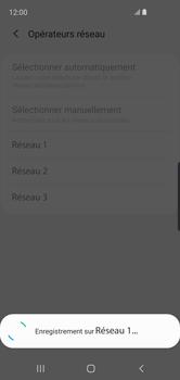 Samsung Galaxy S10e - Réseau - Sélection manuelle du réseau - Étape 12