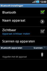 Samsung S5830 Galaxy Ace - Bluetooth - Headset, carkit verbinding - Stap 6