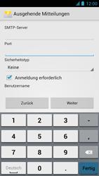 Alcatel One Touch Idol - E-Mail - Manuelle Konfiguration - Schritt 15