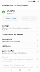 Huawei P10 - Applications - Supprimer une application - Étape 5