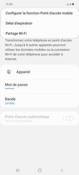 Samsung Galaxy Note20 - Internet et connexion - Partager votre connexion en Wi-Fi - Étape 8