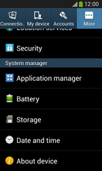 Samsung Galaxy Ace III - Software - Installing software updates - Step 6