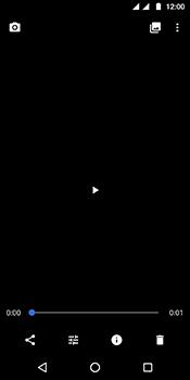 Motorola Moto G6 - Photos, vidéos, musique - Créer une vidéo - Étape 18