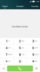 Huawei Y5 - Anrufe - Rufumleitungen setzen und löschen - 3 / 9