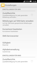 Alcatel OT-5050X Pop S3 - SMS - Manuelle Konfiguration - Schritt 9