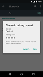 Motorola Moto G 3rd Gen. (2015) - Bluetooth - Pair with another device - Step 7