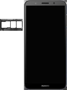 Huawei Y5 (2018) - Device - Insert SIM card - Step 4