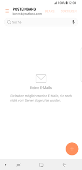 Samsung Galaxy S8 - Android Oreo - E-Mail - 032c. Email wizard - Outlook - Schritt 6
