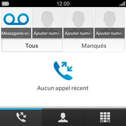 BlackBerry Q5 - Messagerie vocale - configuration manuelle - Étape 4