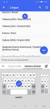 Huawei P30 Pro - Operazioni iniziali - Come aggiungere una lingua alla tastiera - Fase 9