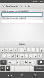 Sony Xperia E4g - E-mails - Ajouter ou modifier un compte e-mail - Étape 19