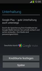 Samsung Galaxy Grand Neo - Apps - Konto anlegen und einrichten - 23 / 26