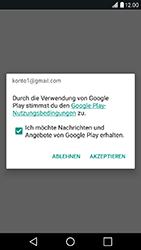 LG X Power - Apps - Konto anlegen und einrichten - Schritt 17
