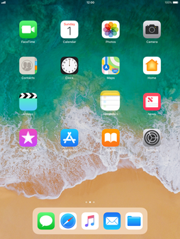 Apple iPad mini 2 iOS 11 - Getting started - Personalising your Start screen - Step 4