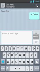 LG Optimus F6 - Contact, Appels, SMS/MMS - Envoyer un SMS - Étape 10