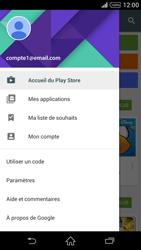 Sony Xperia Z2 - Applications - Comment vérifier les mises à jour des applications - Étape 5