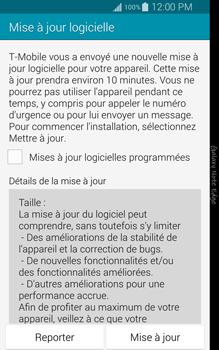 Samsung Galaxy Note Edge - Logiciels - Installation de mises à jour - Étape 7