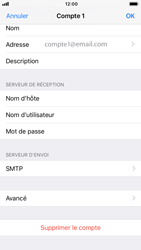 Apple iPhone 7 - iOS 12 - E-mail - configuration manuelle - Étape 21