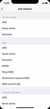 Apple iPhone X - MMS - Configurazione manuale - Fase 8