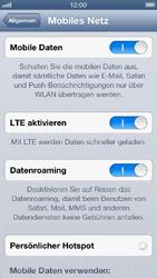 Apple iPhone 5 - Ausland - Auslandskosten vermeiden - 0 / 0