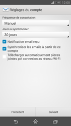 Sony Xperia Z3 Compact - E-mail - 032b. Email wizard - Yahoo - Étape 7