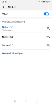 Huawei Mate 10 Pro - Android Pie - WiFi - WiFi-Konfiguration - Schritt 8